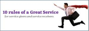 10 rules of a great service